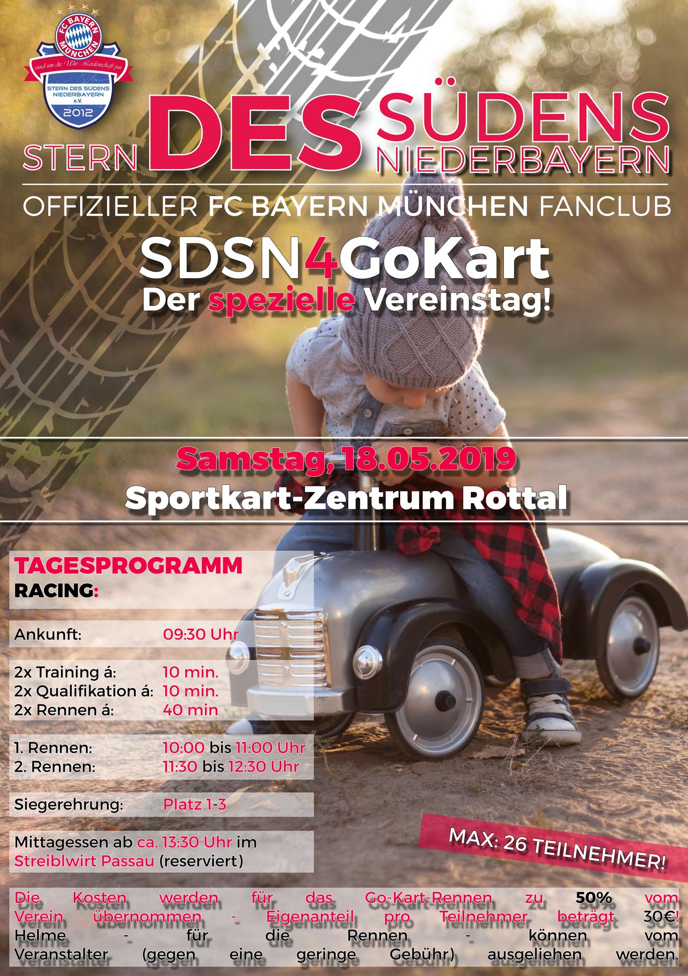 SDSN Go-Kart 2019 | Veranstaltung